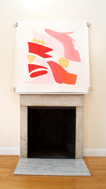 Flamingo Abstract No.12