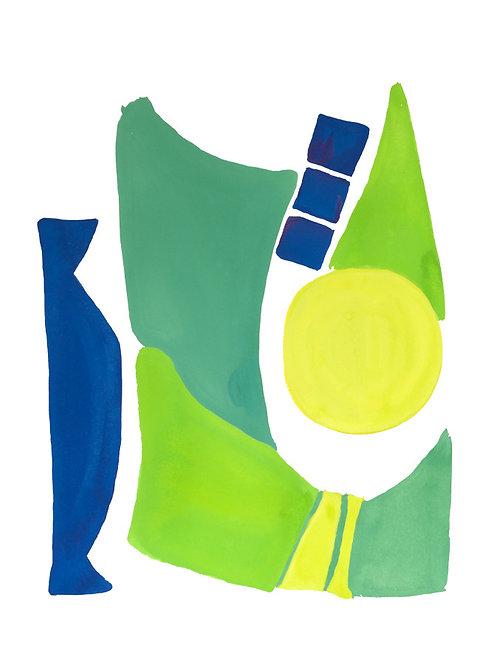 Peacock Abstract No.3