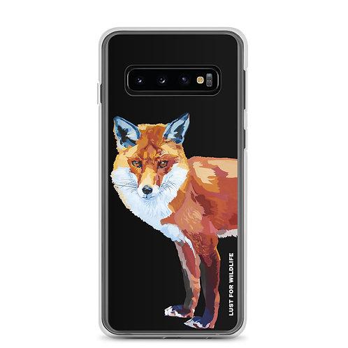 Fox Black Samsung Case