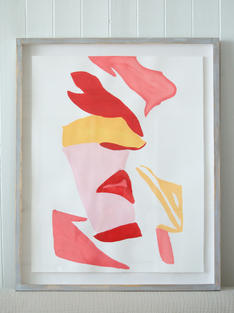 Flamingo Abstract No.2