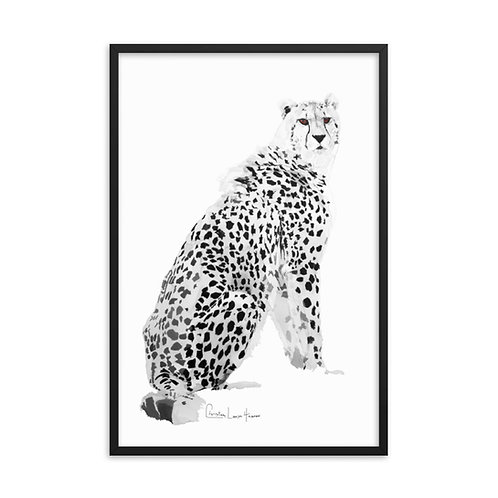 Cheetah No.2 Framed Print