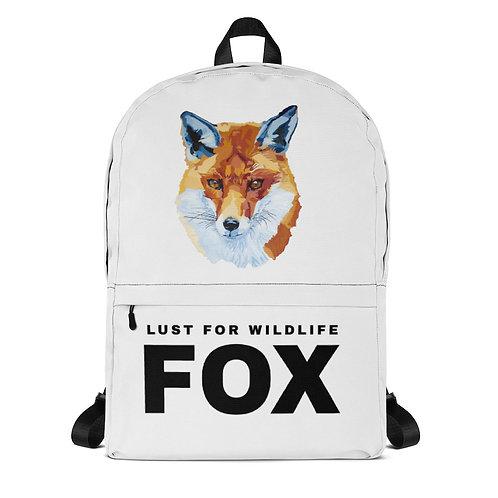 Fox White Backpack