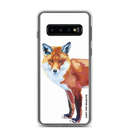Fox White Samsung Case
