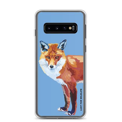 Fox Blue Samsung Case