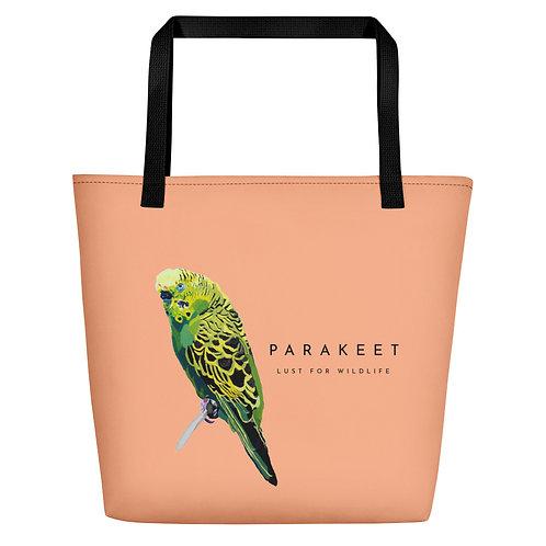 Parakeet Melon Tote Bag