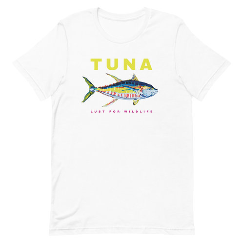 Yellowfin Tuna Adult Unisex T-Shirt