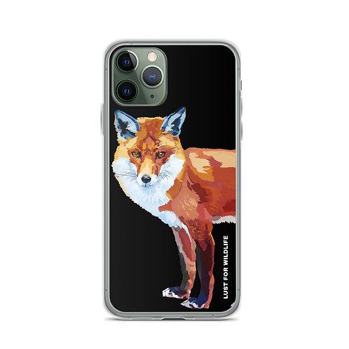 Fox Black iPhone Case