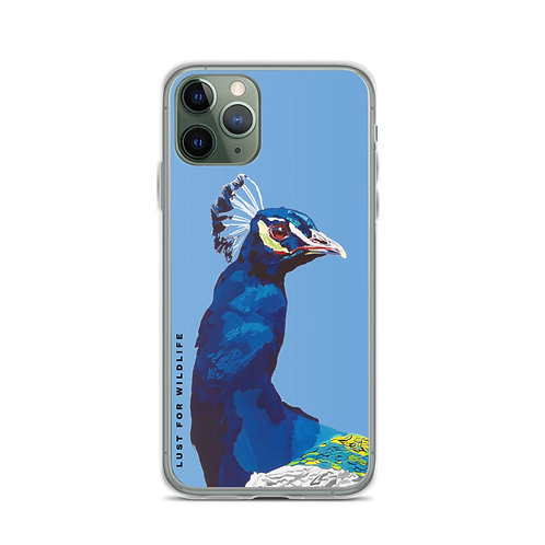 Peacock Blue iPhone Case
