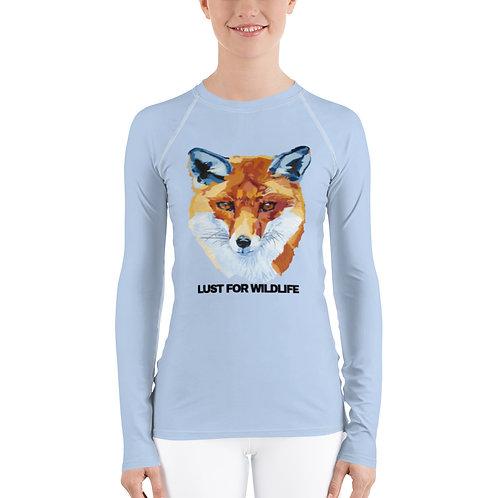 FOX Ice blue Women's Rash Guard