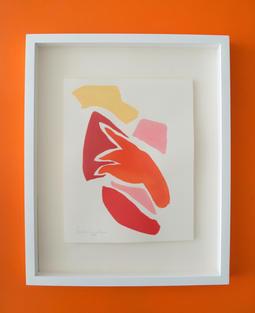 Flamingo Abstract No.5 SOLD