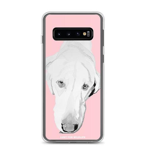 Labrador Pink Samsung Case