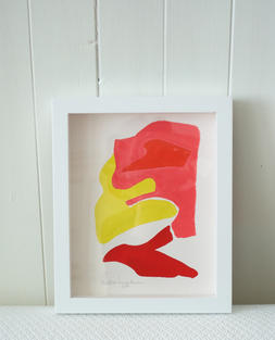Flamingo Abstract No.11