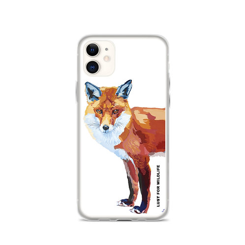 Fox White iPhone Case