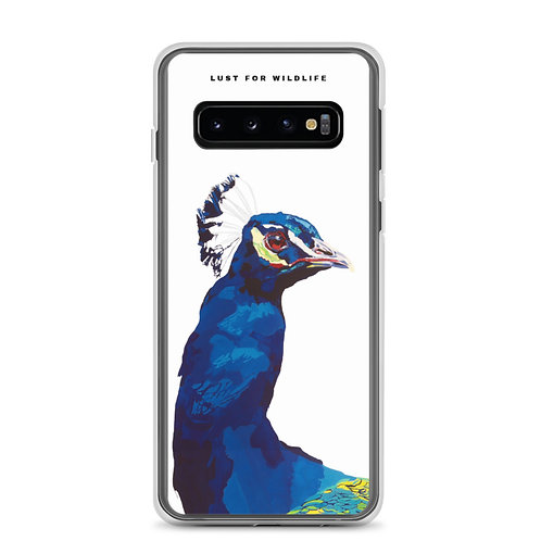 PEACOCK Samsung Case white