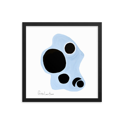 Tiger Abstract No. 1 Framed Print
