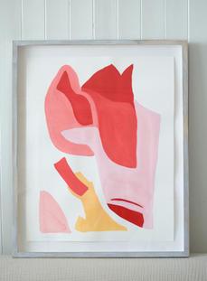 Flamingo Abstract No.3