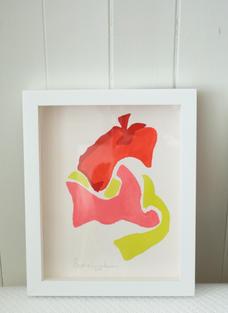 Flamingo Abstract No.10
