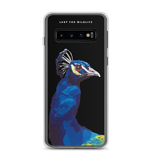 PEACOCK Samsung Case black