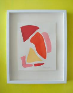 Flamingo Abstract No.6 SOLD