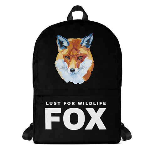 Fox Black Backpack