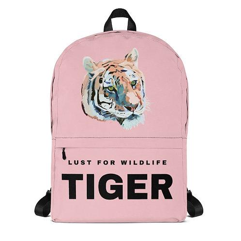 Tiger Pink Backpack