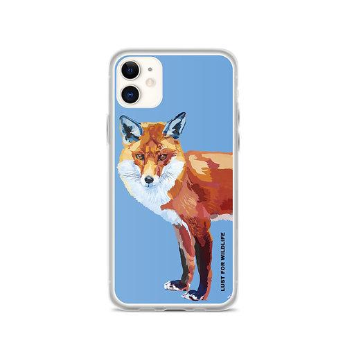 Fox Blue iPhone Case