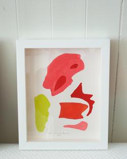 Flamingo Abstract No.7