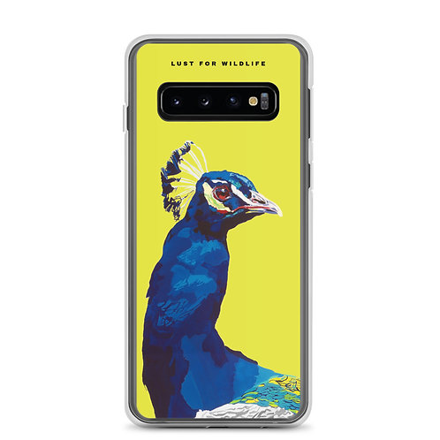 Peacock Citron Samsung Case