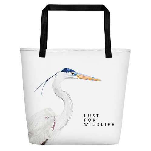 Heron No.6 Beach Bag