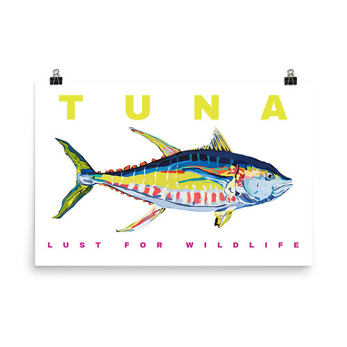 Yellowfin Tuna Print