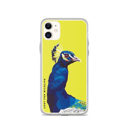 Peacock Citron iPhone Case
