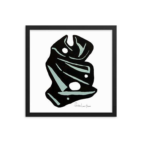 Tiger Abstract No. 8 Framed Print