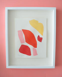 Flamingo Abstract No.4