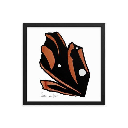 Tiger Abstract No. 5 Framed Print