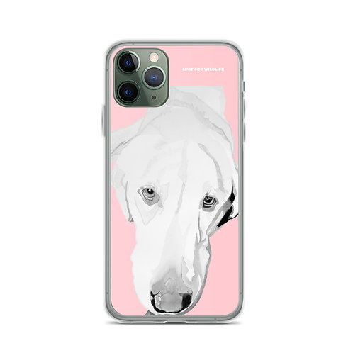 Labrador Pink iPhone Case