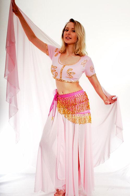 Chiffon Skirt & Veil Set