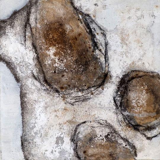 Steinern VI, 50x50 cm
