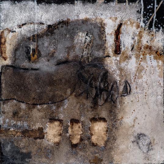 Steinern I, 50x50 cm