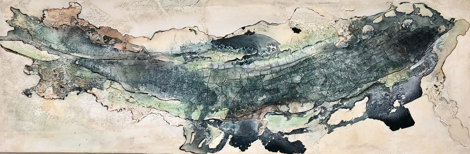 From the Sea I, 180x60cm