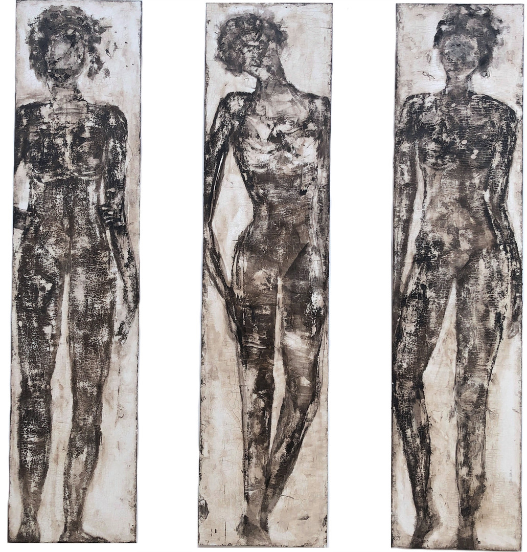 Nymphen, 170x40 cm
