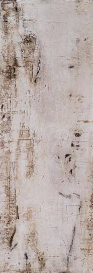 Steinzeichen IV, 105x37 cm