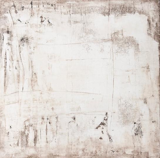 Begegnung II, 80x80 cm