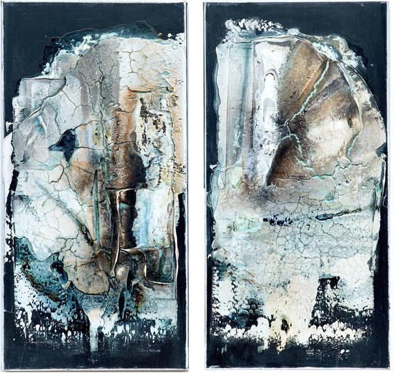 Okjökull, 80x40 cm