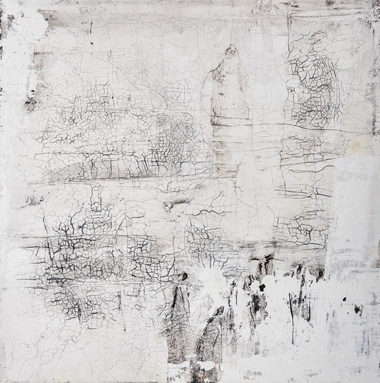 Begegnung IV, 50x50 cm