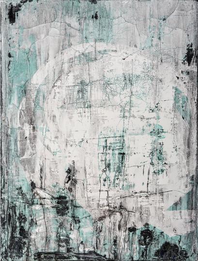 Aufbruch III, 80x60 cm