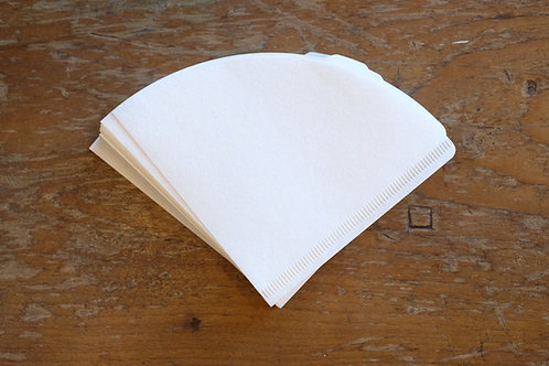 CAFEC Abaca Coffee Paper Filter ทรงกรวย