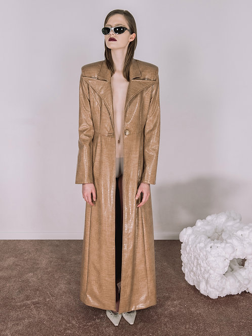 CANTILEVER TRENCH COAT