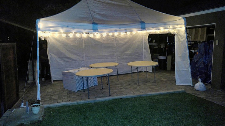 White Canopyu0027s 10 by 15 canopyu0027s & Party Equipment Rental Service | Avenue | Culvercitypartysupplies