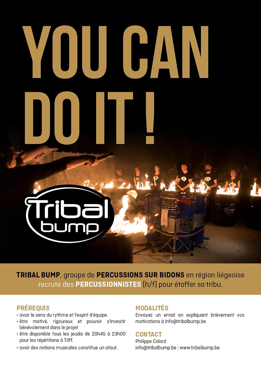 Tribal Bump recrute !