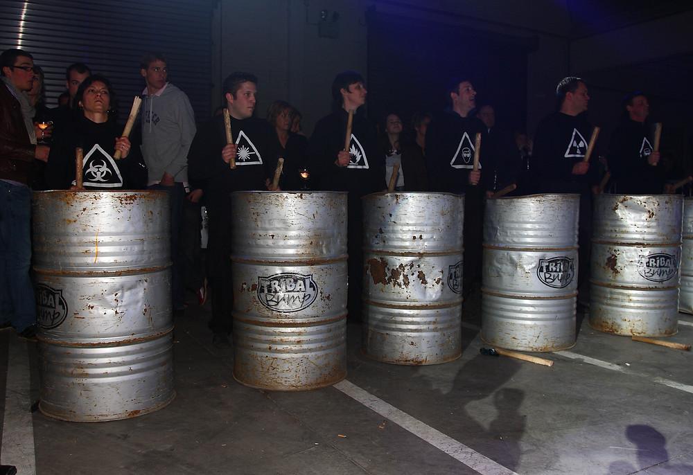 Tribal Bump - percussion sur bidons